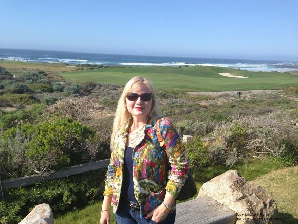 At Spanish Bay, near Pebble Beach, California