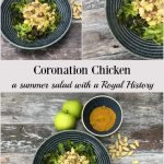 My Coronation Chicken recipe makes a light and delicious summer salad, gently spiced with curry powder and sweetened with fresh and dried fruit. This gorgeous vintage dish has a royal history but it's easier to make than you might think!