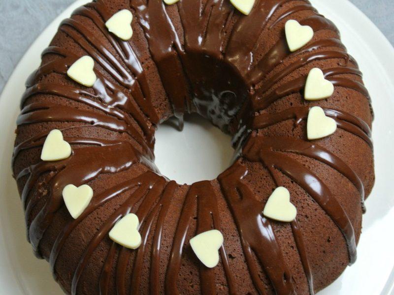 Mocha Cake with a Twist