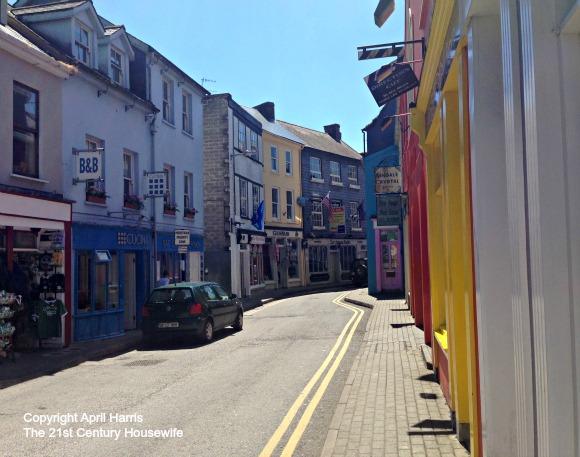 Side Street in Kinsale Ireland