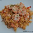 Quick, easy, oh so delicious Moroccan Shrimp and Couscous