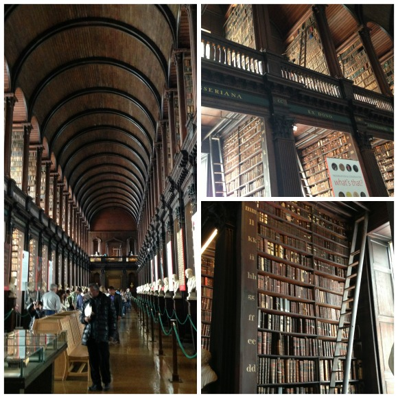 Trinity College Library Collage