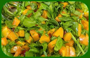 333 butternut squash and spinach