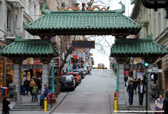 The 49 Mile Drive - See San Francisco in a Day - The Gates of Chinatown