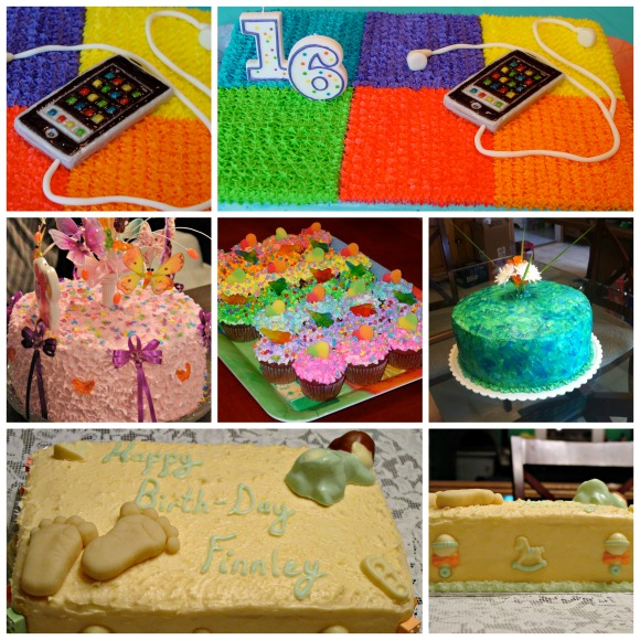 Esthers Cake Collage