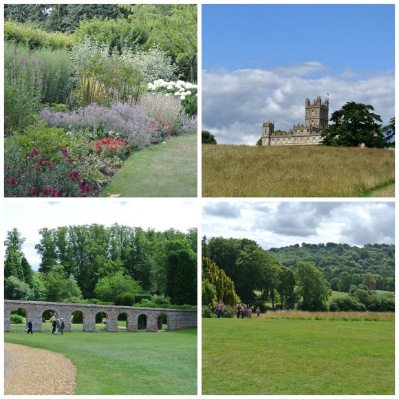 Highclere Collage