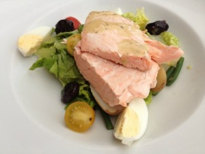 Poached Shetland Islands Salmon