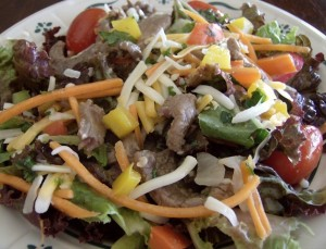 Southwest-Steak-Salad-with-Honey-Lime-Dressing-300x229
