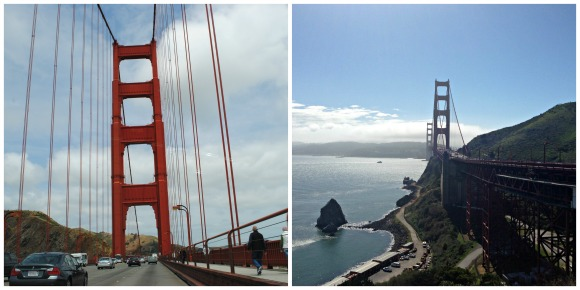 The 49 Mile Drive - San Francisco in a Day - Crossing The Golden Gate Bridge and a View from The Vista Point
