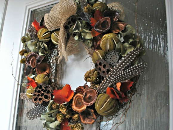 Autumn Decor - Autumn Wreath