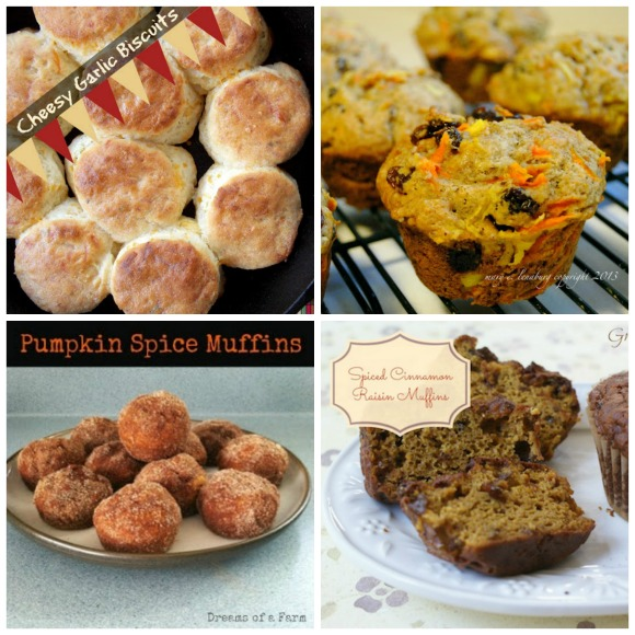 Biscuit and Muffin Collage