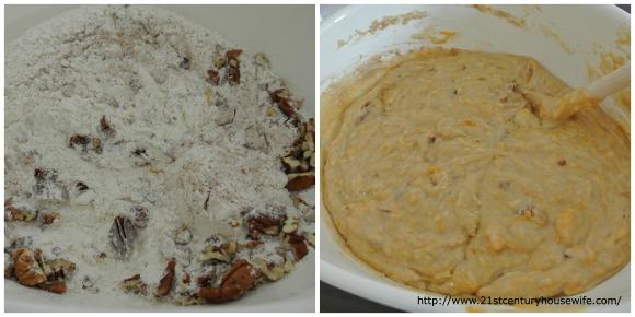 Butternut Pecan dry ingredients Collage