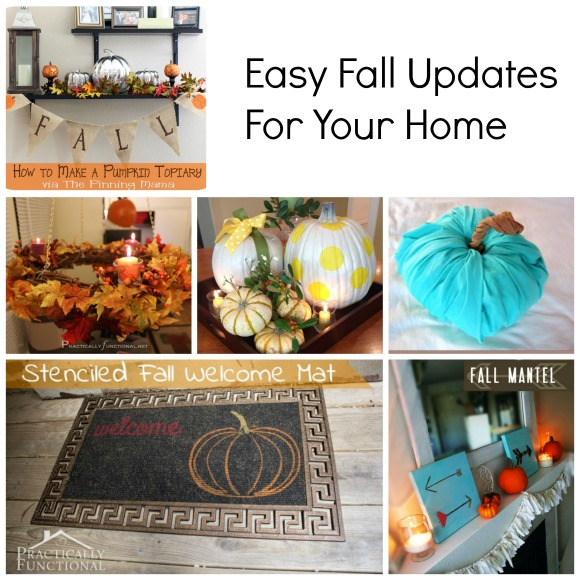 Easy Fall Updates for your Home