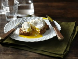 Flora Poached Eggs