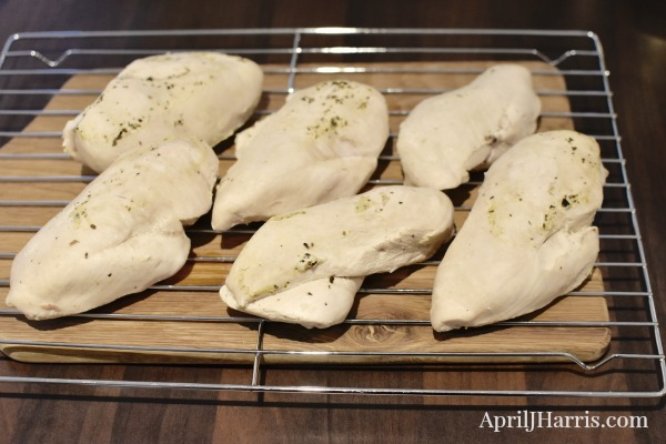 How To Poach Chicken Breasts, for moist, delicious meat every time