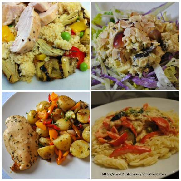 Ways to Use Poached Chicken Collage