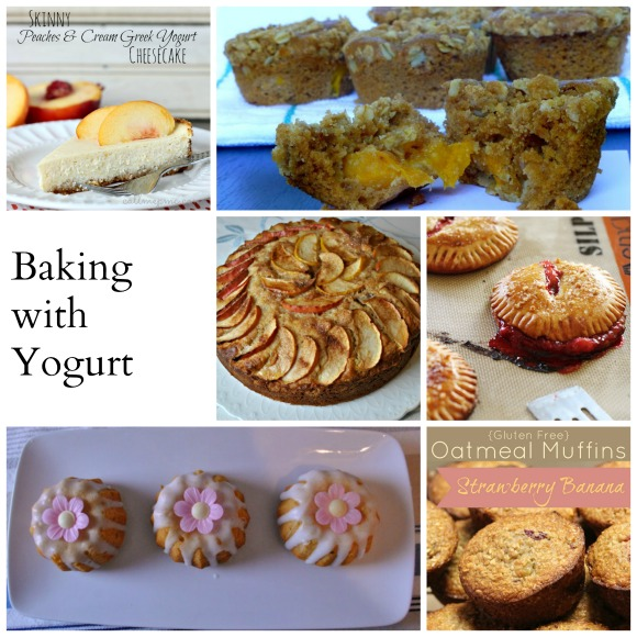 Baking with Yogurt Collage