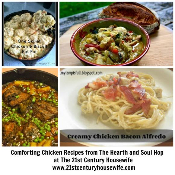 Chicken Recipes Collage