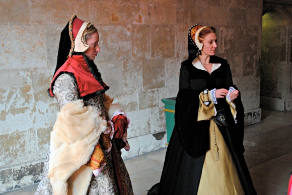 Costumed Interpreters at Hampton Court