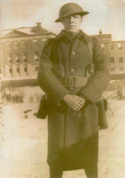 Joseph Edward Killingback WW1