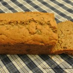Applesauce Date and Walnut Loaf Cake