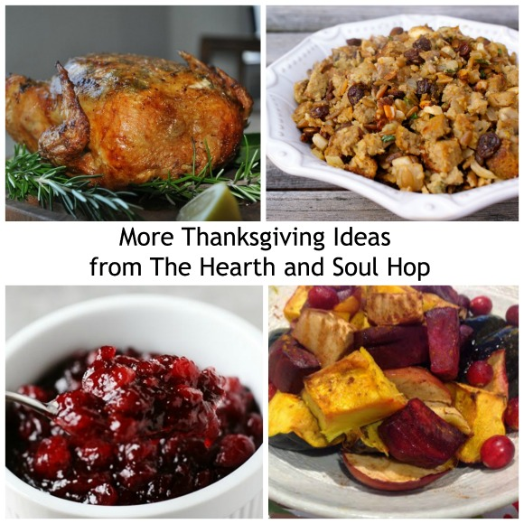 More Thanksgiving Ideas from The Hearth and Soul Hop