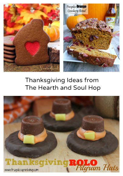 Thanksgiving Ideas from The Hearth and Soul Hop