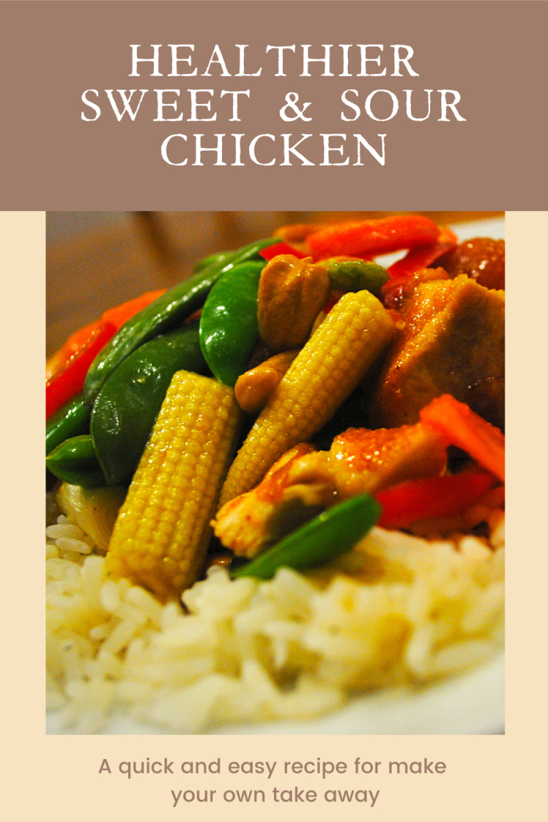 Healthier Sweet and Sour Chicken