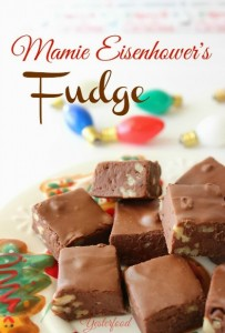Mamie Eisenhower's Fudge by Yesterfood 2