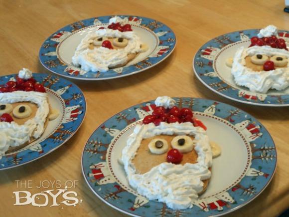 Santa-Pancakes