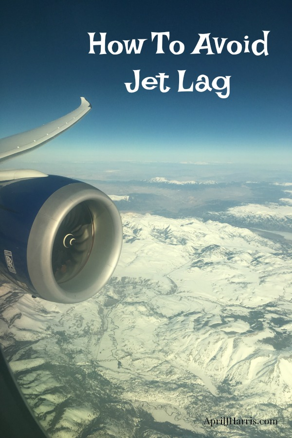 How to Avoid Jet Lag - hints and tips to help you feel rested and enjoy long journeys