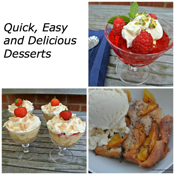 Quick Easy and Delicious Desserts