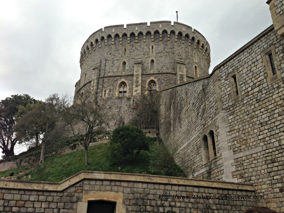 Visiting Windsor Castle - The Keep