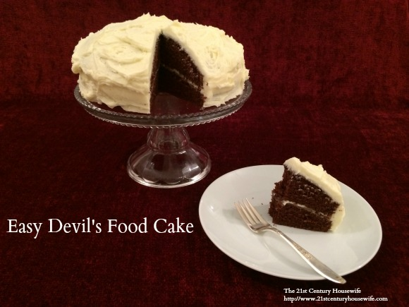 Easy Devil's Food Cake