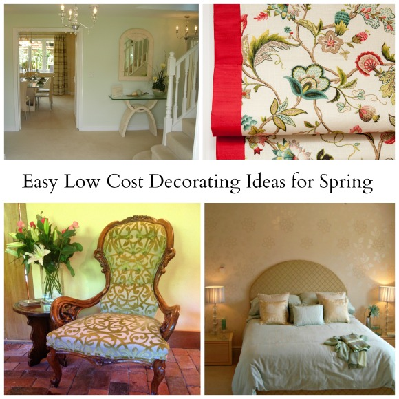 Easy Low Cost Decorating Ideas for Spring - April J Harris
