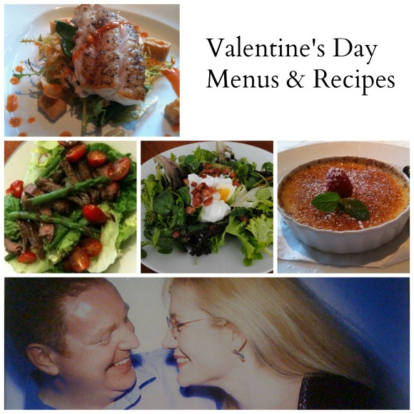 Romantic Valentines Day Menus and Recipes