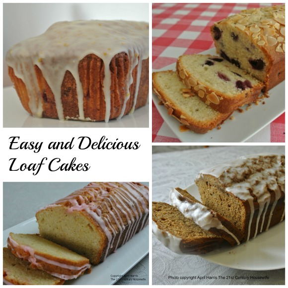 Easy and Delicious Loaf Cakes