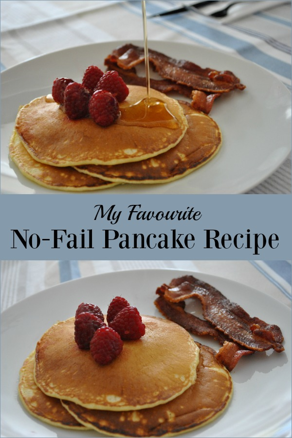 Whether you are making pancakes for Shrove Tuesday or as a treat any day, my all time favourite pancake recipe is light, fluffy and never fails.