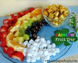 Rainbow Fruit Tray