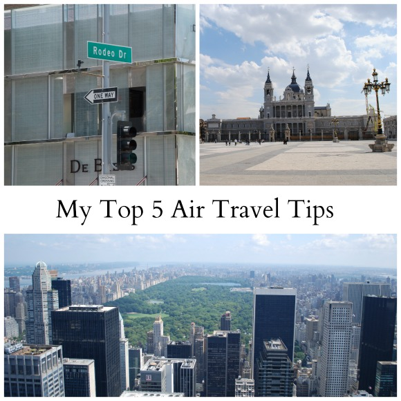 Top Five Air Travel Tips
