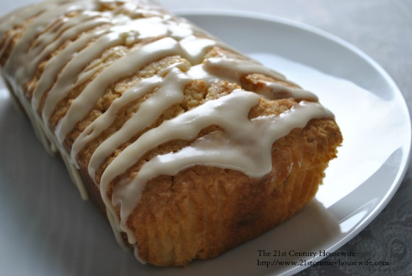 Triple Ginger Pound Cake
