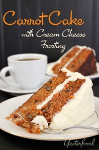The Hearth and Soul Hop featuring Carrot Cake by Yesterfood