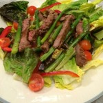 Steak and Asparagus Salad Recipe