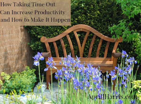 How taking time out can increase productivity - and how to make it happen