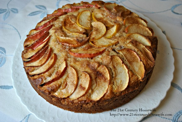 Apple Cinnamon Yogurt Cake for National Yogurt Week