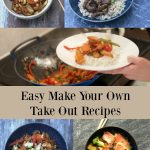 Try these easy, delicious Make Your Own Take Away Recipes for Chinese New Year & beyond. Healthier than traditional take away, they may be even faster too. From vegan and vegetarian to meat and fish, there are recipes for everyone!