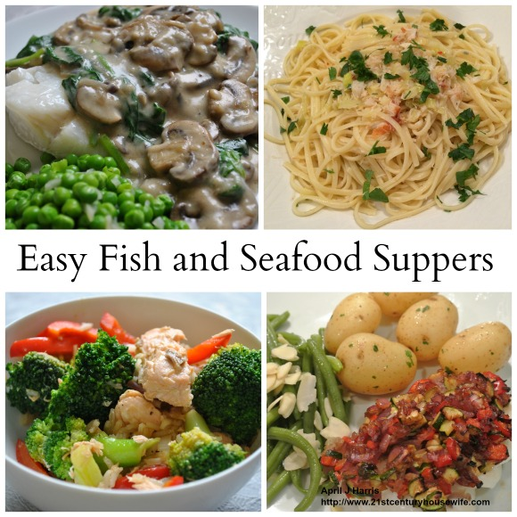Easy Fish and Seafood Recipes