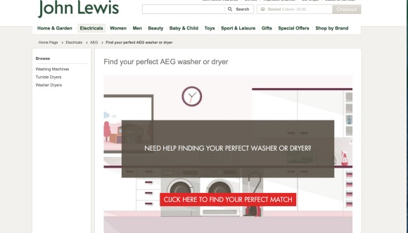 Find Your Perfect Match at John Lewis