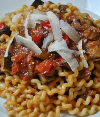 Pasta alla Norma with a Twist
