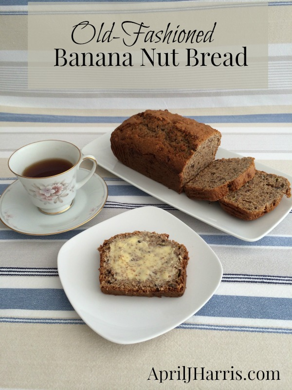 Old-Fashioned Banana Nut Bread